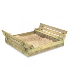 Sabbiera SandSeat con coperchio a ribalta